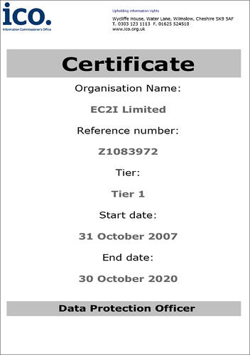 ico certificate